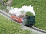 Foto und elektronische Grußkarte von Lok Nr. 2 der Brienz Rothorn Bahn