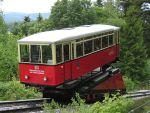 Foto und elektronische Grußkarte von der Güterbühne der Oberweißbacher Bergbahn