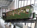 Foto und elektronische Grußkarte vom Dampftriebwagen Nr. 10 der Pilatusbahn im Deutschen Museum München
