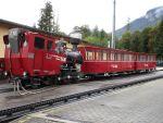 Foto und elektronische Grußkarte vom Dampfzug auf der Schafbergbahn mit Lok Z 14