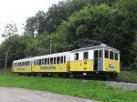 Foto und elektronische Grußkarte von der Historischen Zahnradbahn auf den Wendelstein in Brannenburg