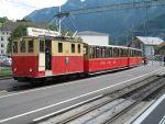 Foto und elektronische Grußkarte von Lok Nr. 19 der Schynige Platte Bahn in Wilderswil