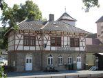 Foto und elektronische Grußkarte vom Bahnhof Dörzbach an der Jagsttalbahn