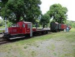 Foto und elektronische Grußkarte vom Eisenbahnmuseum Vienenburg