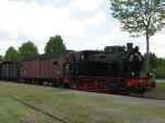 Foto und elektronische Grußkarte von der Dampflok 2 der Delmenhoster Eisenbahnfreunde