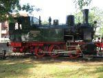 Foto und elektronische Grußkarte von der Dampflok Niedersachsen auf der Hasetalbahn