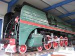 Foto und elektronische Grußkarte von der Dampflok P36-0123 im Eisenbahn- und Technikmuseum Prora