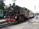 Lok 99708 der Zittauer Schmalspurbahnen