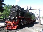Foto und elektronische Grußkarte von der Lok 99 7232 der HSB in Drei Annen Hohne