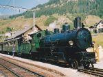 Foto und elektronische Grußkarte von der Lok 108 der Rhätischen Eisenbahn