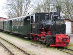 Foto und elektronische Grußkarte von der Rügenschen Kleinbahn Rasender Roland