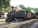 Foto und elektronische Grußkarte von der Dampflok 298 102 der Steyrtalbahn in Grünburg