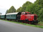 Foto Lok DL2 der Museumseisenbahn Minden in Bad Essen