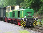 Foto und elektronische Grußkarte von der Diesellok D2 der Brohltalbahn Vulkan-Express