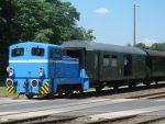 Foto und elektronische Grußkarte von der Diesellok V22 auf der Heidekrautbahn bei Basdorf
