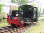 Foto und elektronische Grußkarte von der Diesellokomotive Kö 0128 der AG Märkische Kleinbahn in Berlin