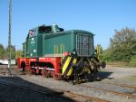 Foto und elektronische Grußkarte von der Diesellok RWE 2 im Rheinischen Industriebahn-Museum Köln
