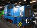 Foto und elektronische Grußkarte von der Diesellok V 23 082 im Eisenbahn- und Technikmuseum Schwerin