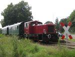 Foto und elektronische Grußkarte vom Dieselzug der Verdener Eisenbahnfreunde in Stemmen
