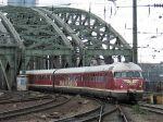 Foto und elektronische Grußkarte vom Dieseltriebwagen VT 08 in Köln