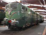 Foto und elektronische Postkarte von der französischen Weltrekordlokomotive BB 9004 im Cite du Train