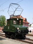 Foto und elektronische Postkarte von der Elektrolok EL 4 Lina der Trossinger Eisenbahn