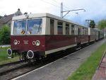 Foto und elektronische Grußkarte vom Triebwagen VT 279 / 479 der Buckower Kleinbahn