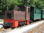Foto und elektronische Grußkarte vom der Waldeisenbahn Bad Muskau