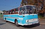 Foto und elektronische Grußkarte vom Fleischerbus S5
