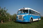 Foto und elektronische Grußkarte vom Omnibus H6B