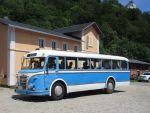 Foto und elektronische Grußkarte vom Omnibus H6B/L in Steinbach