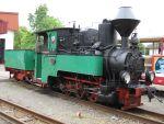Foto und elektronische Gru�karte von der Dampflok 99 3301 der Parkeisenbahn Cottbus