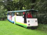 Foto und elektronische Grußkarte von der Parkbahn Heimliche Liebe im Grugapark in Essen
