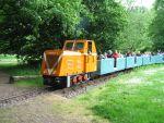 Foto und elektronische Gru�karte von der Parkeisenbahn Pei�nitz-Express in Halle/Saale