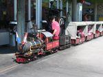 Foto und elektronische Gru�karte von der Gartenbahn im Verkehrshaus der Schweiz in Luzern<br />