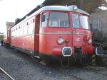 Foto und elektronische Grußkarte vom MAN-Triebwagen VT 25 der Rhein-Sieg-Eisenbahn