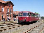 Foto und elektronische Grußkarte vom Schienenbus VT 96 901 in Obernkirchen