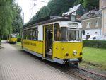 Foto und elektronische Grußkarte von der Kirnitzschtalbahn in Bad Schandau