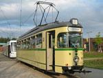 Foto und elektronische Gru�karte vom Triebwagen 620 der VHAG Bogestra