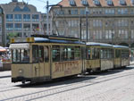 Foto und elektronische Grußkarte vom Datterich-Express in Darmstadt