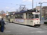 Foto und elektronische Grußkarte vom Triebwagen 36 der Naumburger Touristenbahn