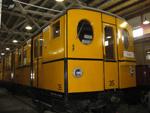 Foto und elektronische Gru�karte von der U-Bahn Typ B1-T4 - Tunneleule in Berlin